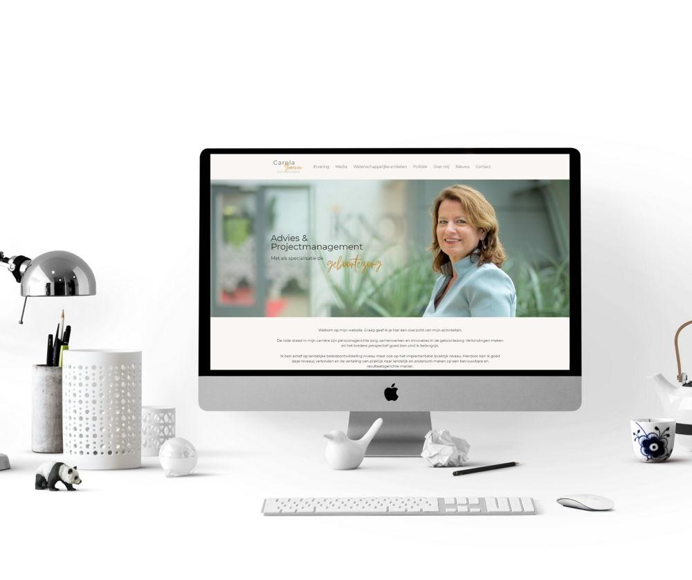 Wordpress website design - Li-Z